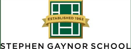 stephen gaynor school logo