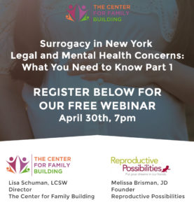 Surrogacy in New York Webinar by Lisa Schuman